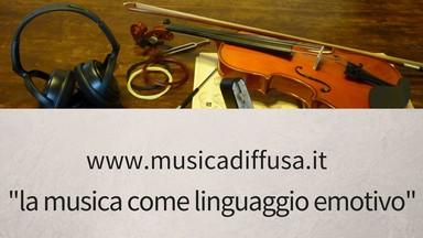 la musica come linguaggi emotivo