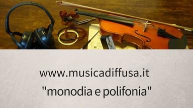 monodia e polifonia